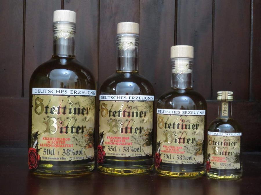 Stettiner Bitter - alle Größen, ©Stephan Becker, Brüssow
