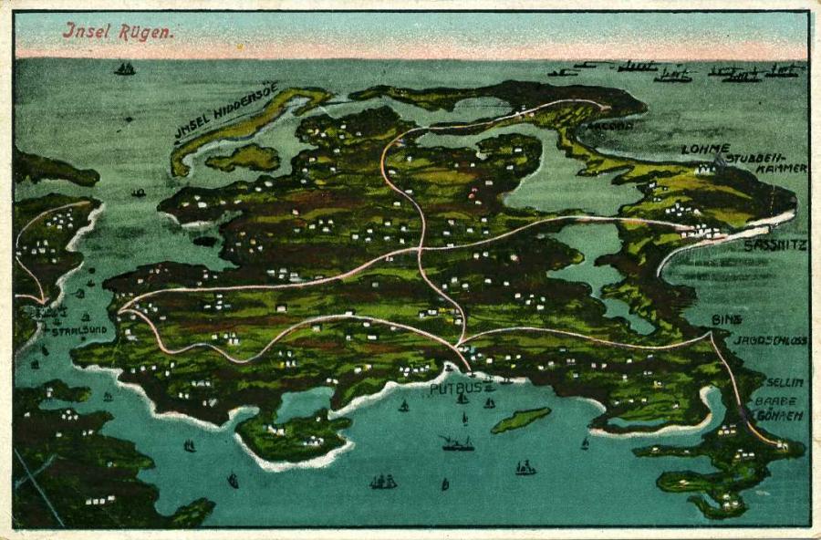 Insel Rügen 1927