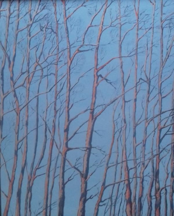 Baumgruppe   I2018 Öl/Acryl auf Leinwand   80 x 100cm