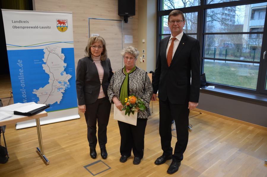 Bärbel Kratzer ist die neue Vorsitzende des Seniorenbeirats OSL