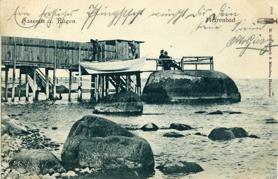 Sassnitz a. Rügen Herrenbad 1900