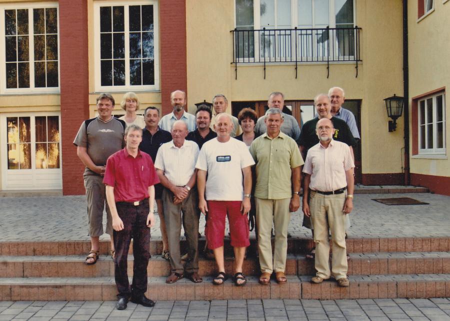 Die 15 Gründungsmitglieder unseres Vereins vom 17.7.2006