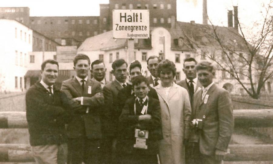 Landesposaunentag in Hof 1963