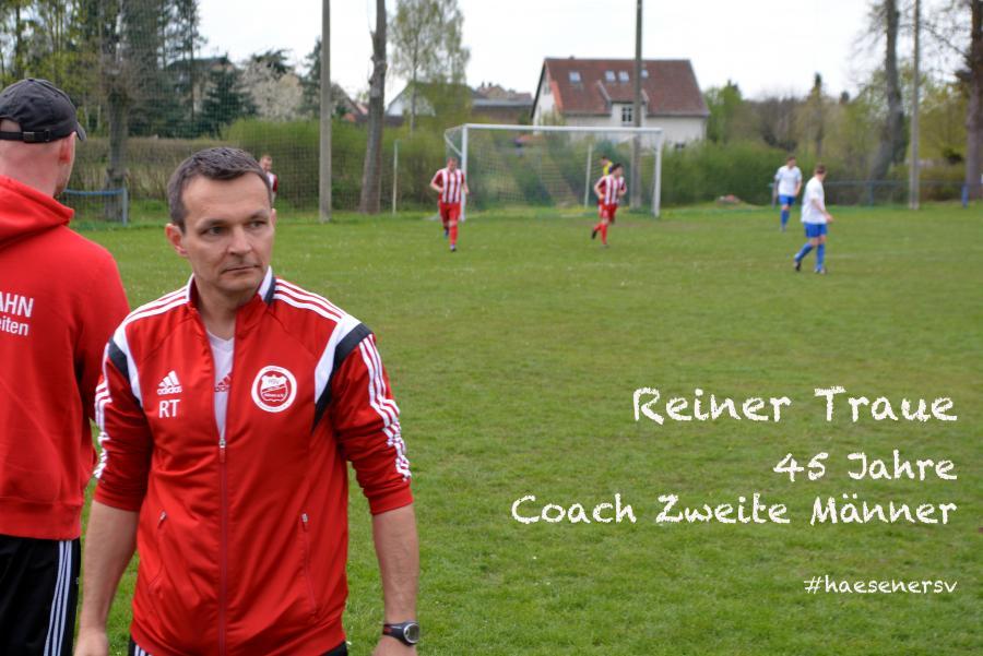 Reiner Traue Coach Zweite Männer