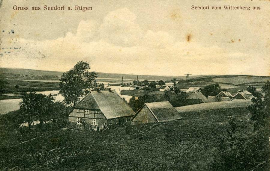 Gruss aus Seedorf a. Rügen /Sellin 1912