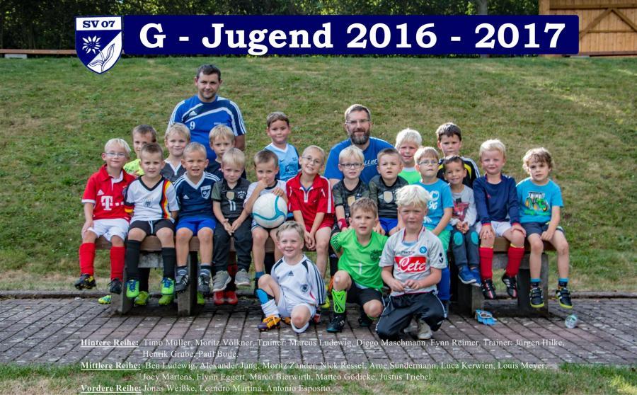 G-Jugend 2016-2017