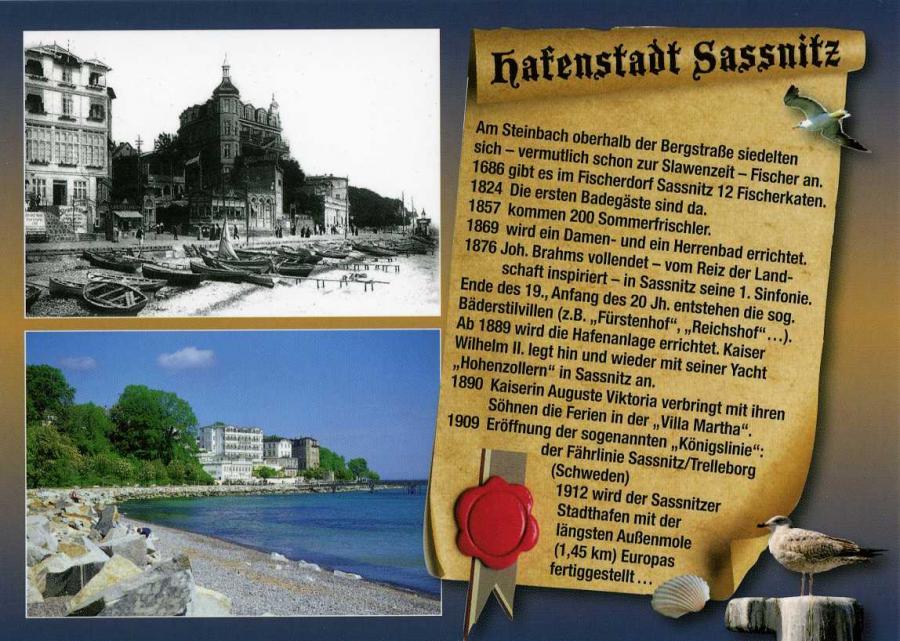 Hafenstadt Sassnitz