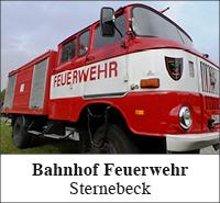 Bahnhof Feuerwehr Sternebeck
