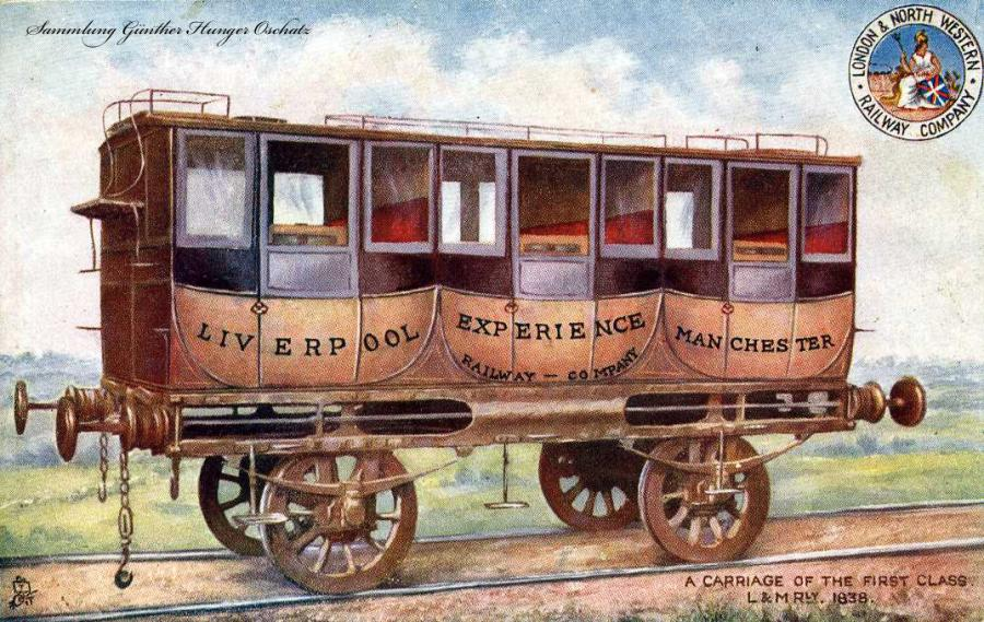 A Carriage of the First Class