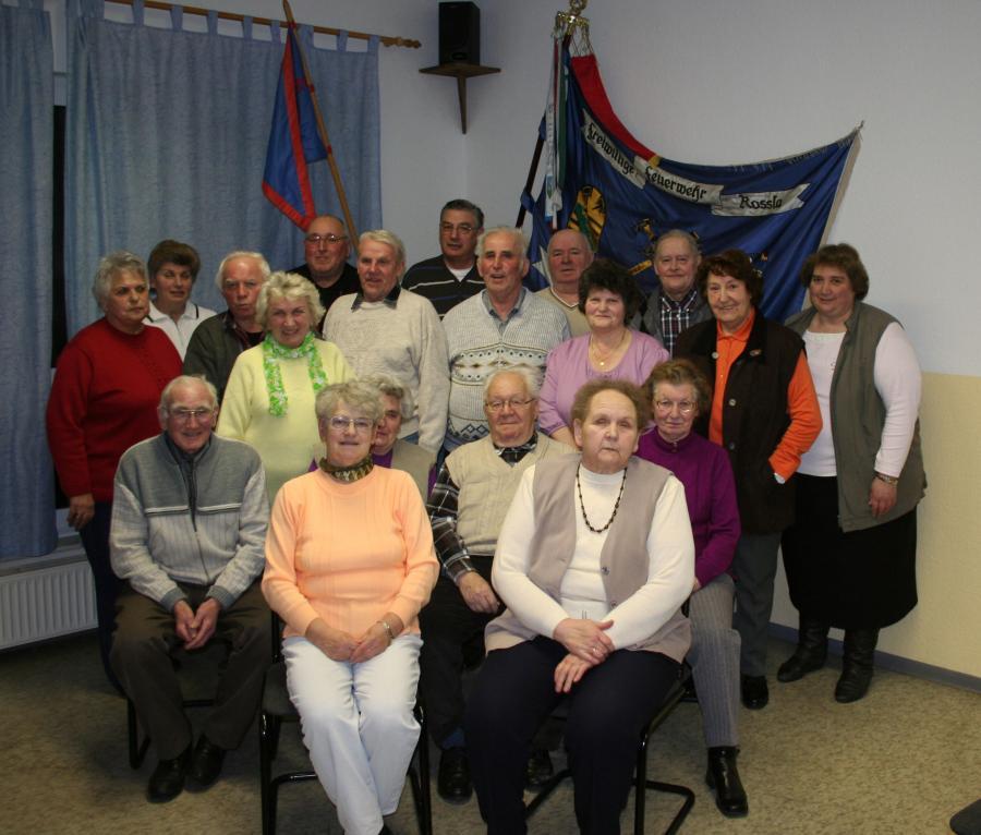 Alters- und Ehrenabteilung 2013