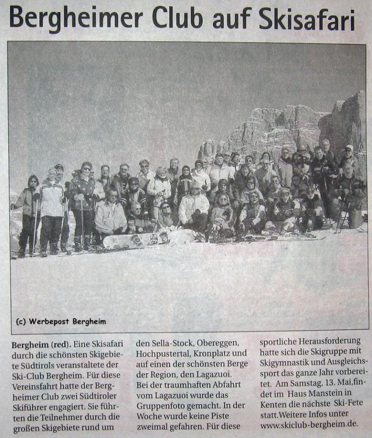 Werbepost Bergheim