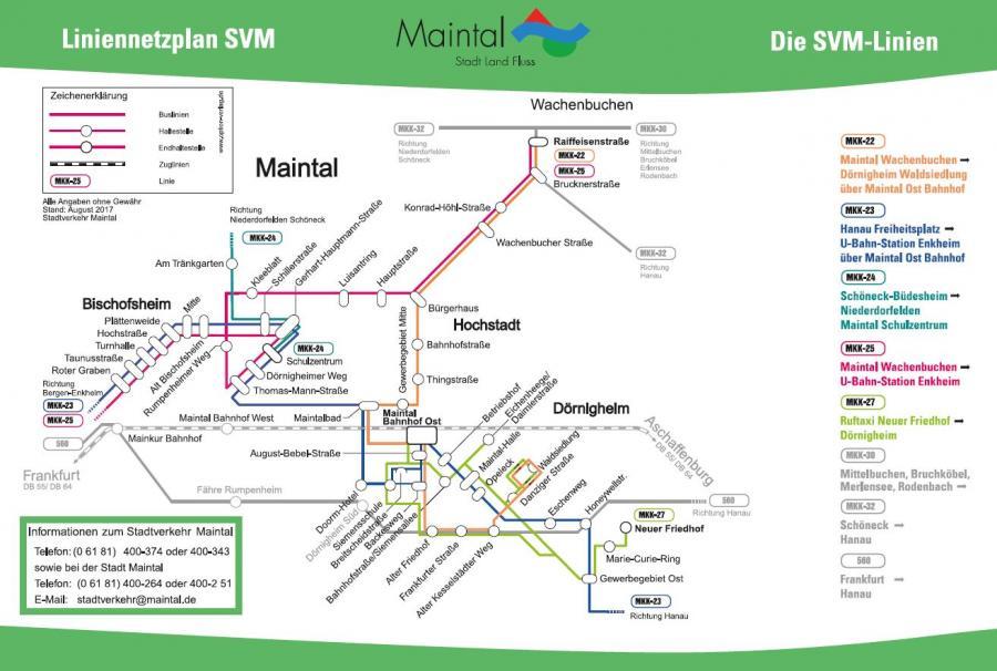Streckennetzplan