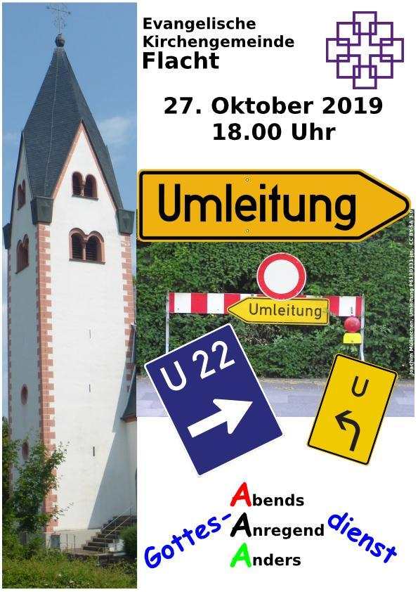 AAA 02 Okt 2019 Umleituung