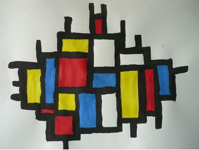 Mondrian von Inga