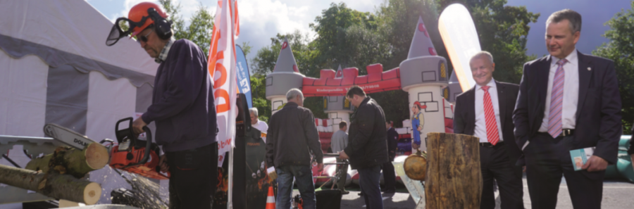 Gewerbeausstellung in Hauneck