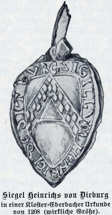 Siegel des Heinrich von Dieburg
