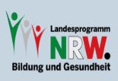 Logo | Landesprogramm NRW | Bildung und Gesundheit