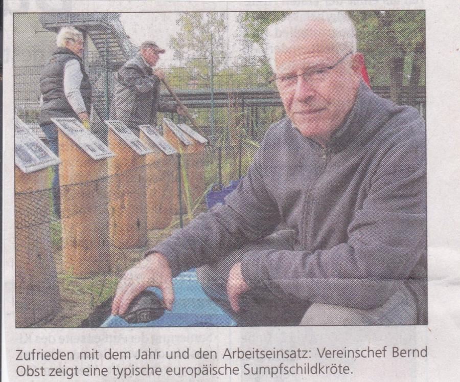 Abfischen 2016 Bernd Obst