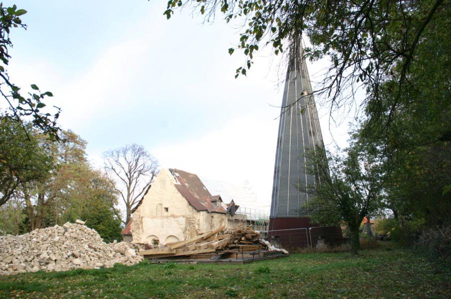 Abriss Turm 2006