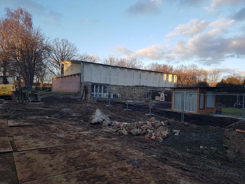 Abriss Nebengebäude