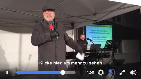 Video: Abschiedsrede von Bürgermeister Hans-Joachim Laesicke beim Weihnachtssingen auf dem Schlossplatz