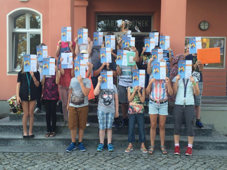 Sommerleseclub-Teilnehmer 2016