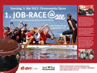 Absolventen aus Wildau besuchen im Mai 2012 die sportlichste Firmenkontaktmesdse atsee
