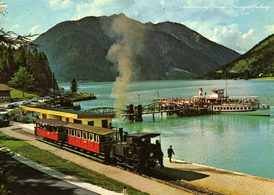 Achensee Tirol Zahnradbahn