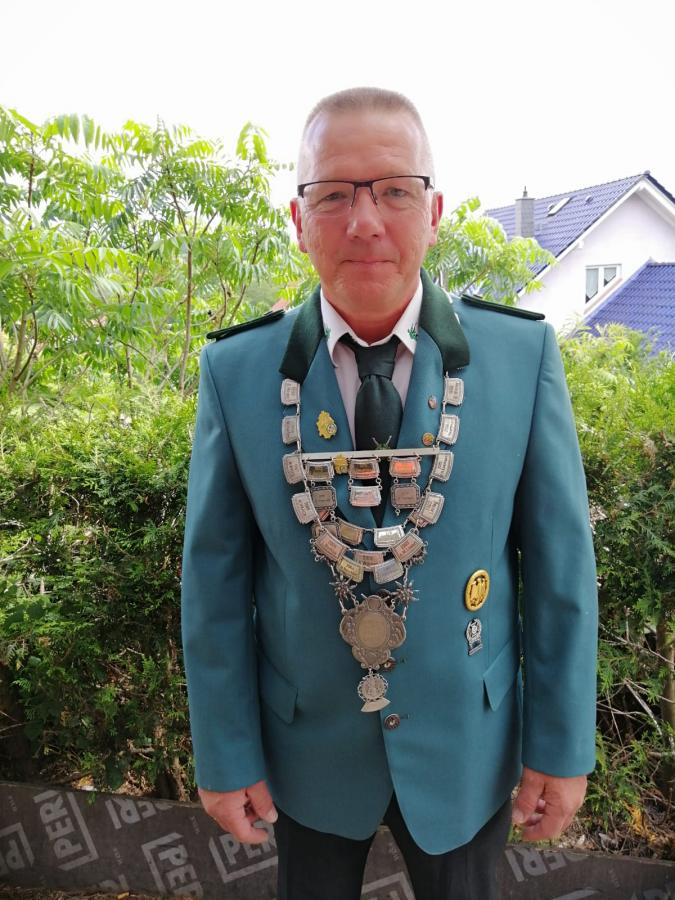 Amtierender Schützenkönig Achim Bopp