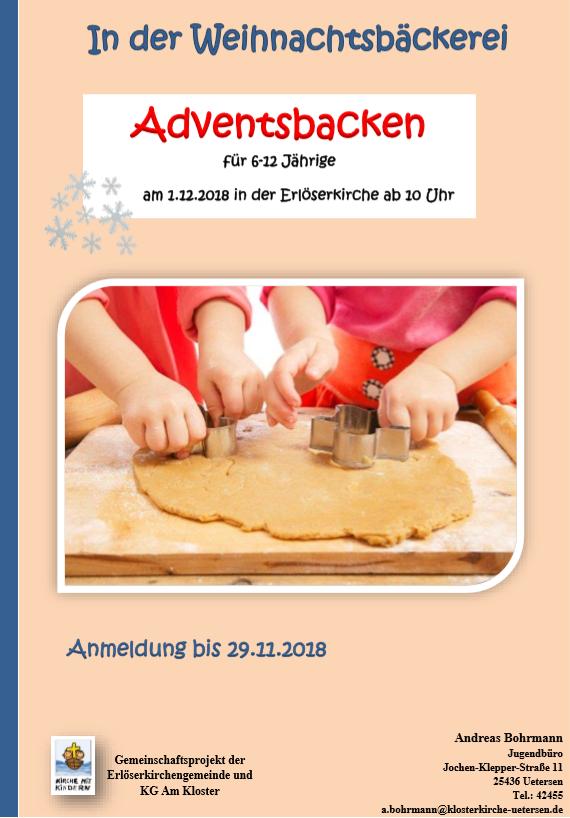 Adventsbacken 2018 Plakat