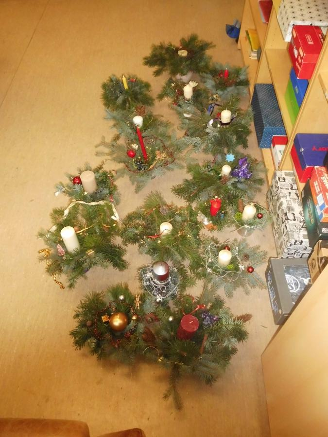 Adventsgestecke