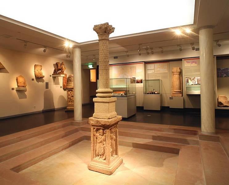 Blick in die Abteilung Römerzeit