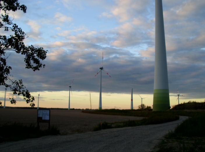 Erweiterung des Windparkes Werbig