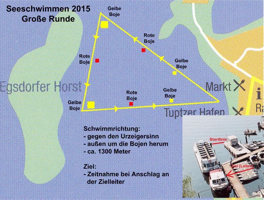 Seeschwimmen 2015 große Runde