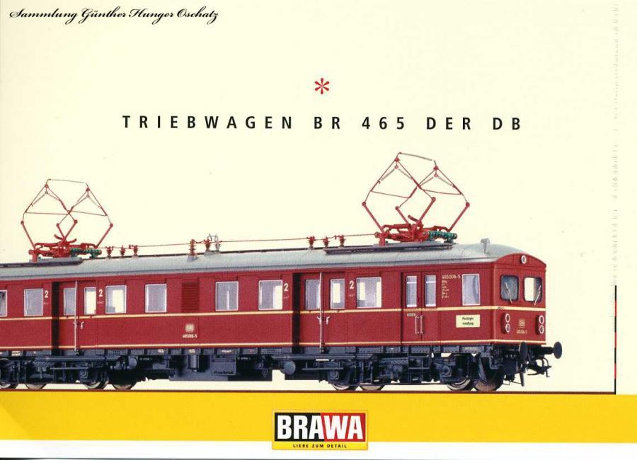 Triebwagen BR 465 der DB