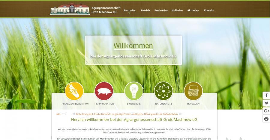 Agrargenossenschaft Groß Machnow
