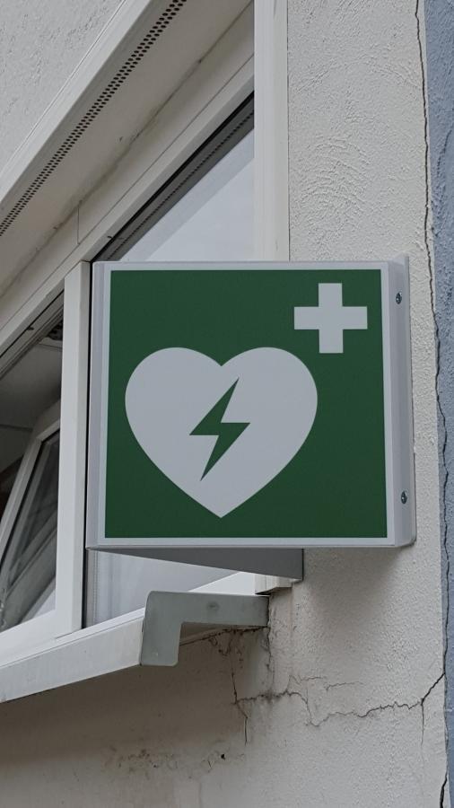 AED Hinweisschild
