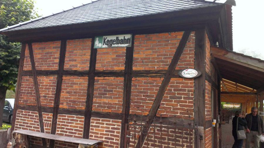 Älteste Kegelbahn-Glashütte