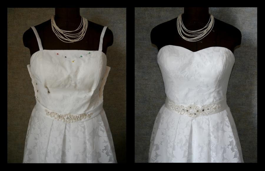Änderung Brautkleid 2