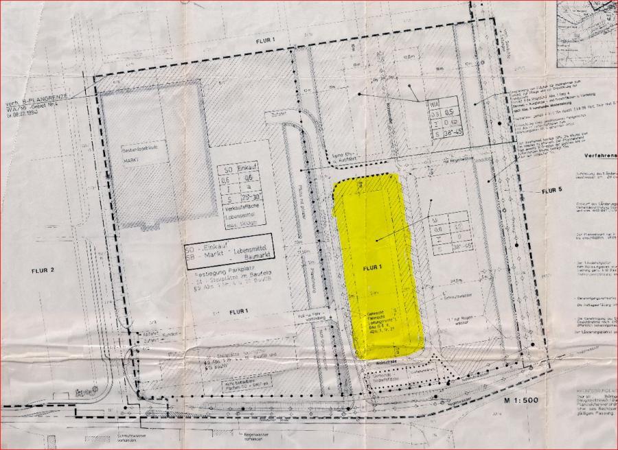 Ärztehaus B-Plan