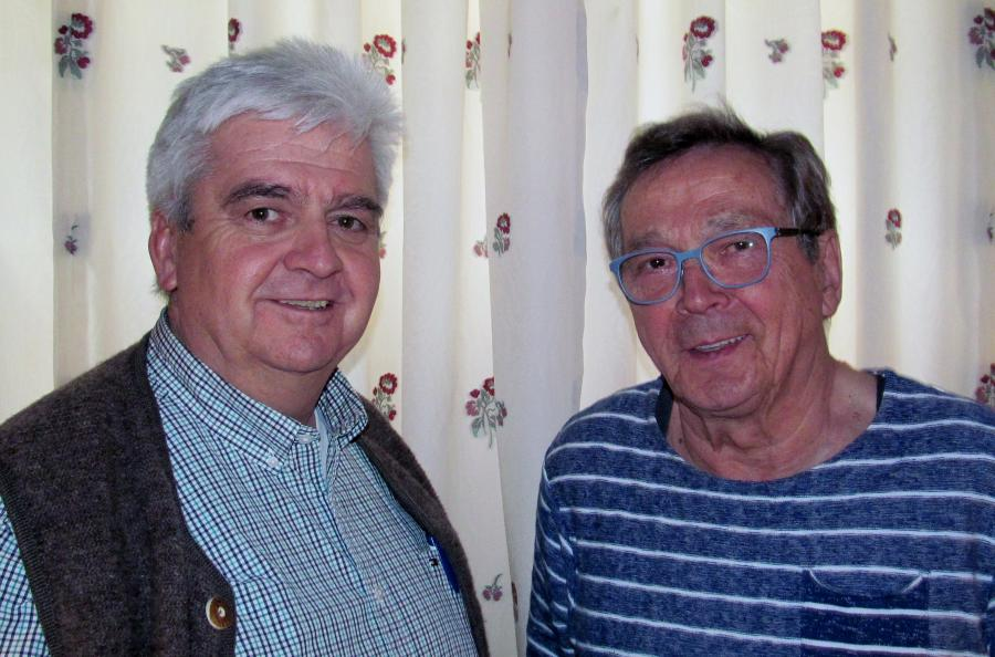 Karl-Heinz Wallé und Bernd Kawka