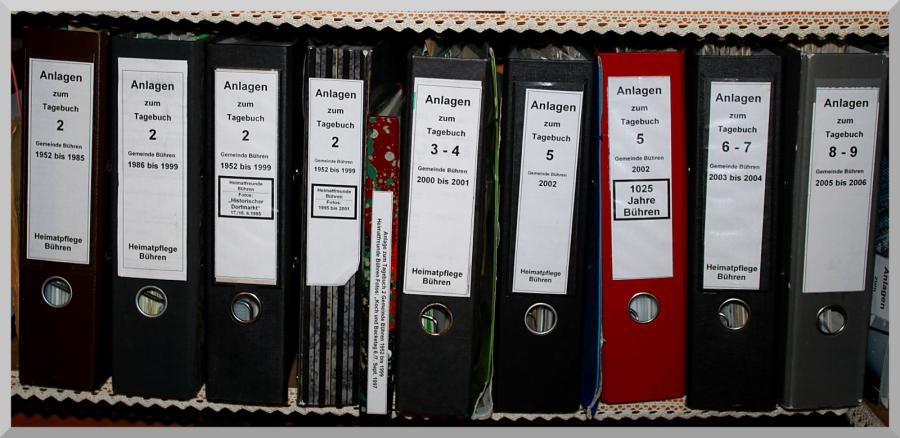 Ordner Tagebücher