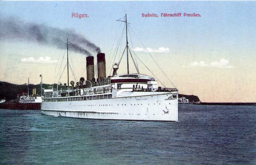 Rügen Saßnitz Fährschiff Preußen