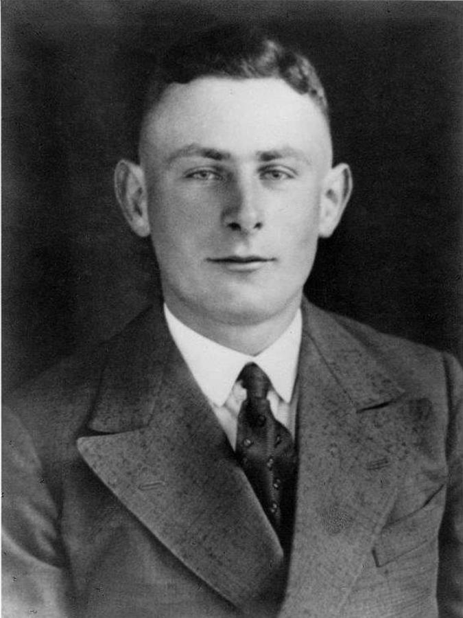 Karl Thürkow, der älteste Sohn von Martha und Carl Thürkow