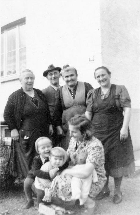 Großeltern Feick und Oma Martha