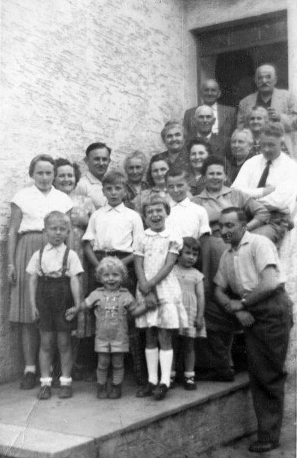 Oma Martha zu Besuch in Bruchmühlbach