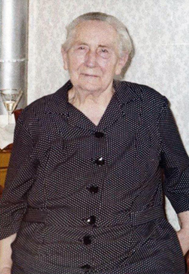 Unsere Großmutter Martha Thürkow im hohen Alter