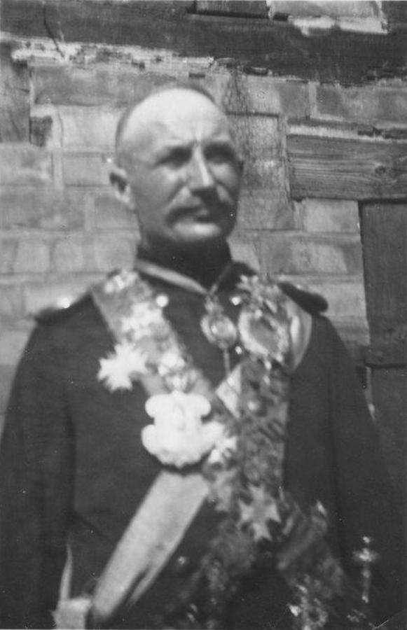 Schützenkönig Carl Thürkow