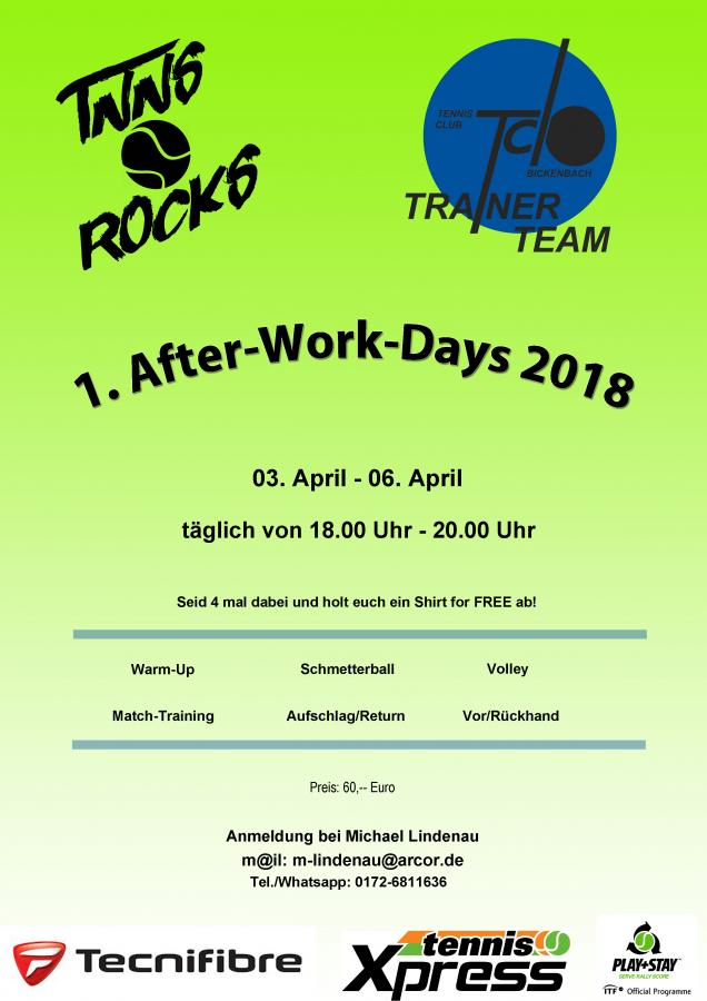 Oster After Work 2018