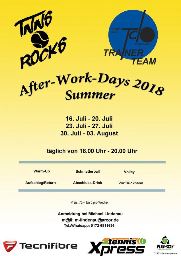 Afterwork Summer 2018